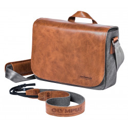 Olympus Olympus Messenger Leather Bag+Strap