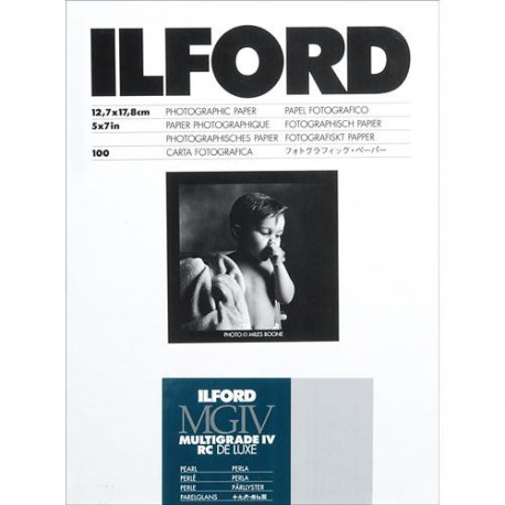 Ilford Multigrade IV RC Deluxe MGD.44M Black & White Variable Contrast Paper (5 x 7