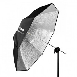 чадър Profoto 100975 Umbrella Shallow Silver M