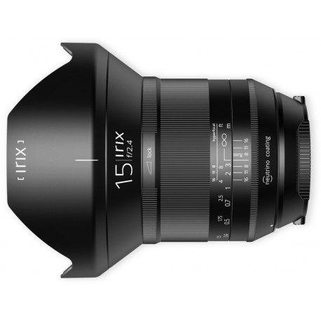 Irix 15mm f/2.4 Blackstone за Canon