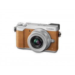 PANASONIC LUMIX GX80 BROWN+12-32MM KIT