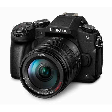 Camera Panasonic Lumix DMC-G80 + Lens Panasonic 14-140mm f/3.5-5.6 POWER OIS