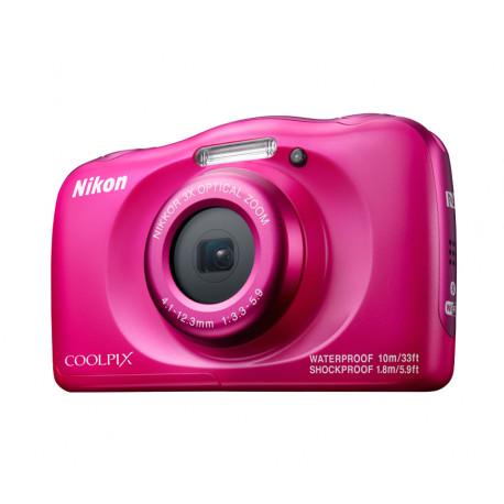 Nikon Coolpix W100 (розов) + раничка