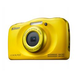 фотоапарат Nikon Coolpix W100 (жълт) + раничка