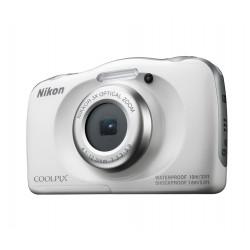 Nikon Coolpix W100 (бял) + раничка