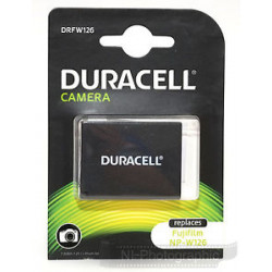 Battery Duracell DRFW126 Li-Ion Battery - equivalent to Fujifilm NP-W126