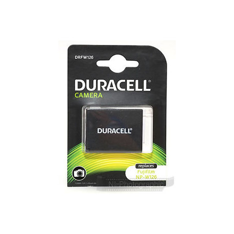 Duracell DRFW126 Li-Ion Battery - еквивалент на Fujifilm NP-W126
