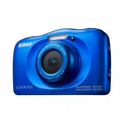 фотоапарат Nikon Coolpix W100 (син) + раничка