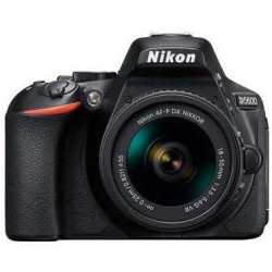 Nikon D5600 + обектив Nikon AF-P 18-55mm VR + чанта Nikon CS-P12 PREMIUM BRIDGE CASE