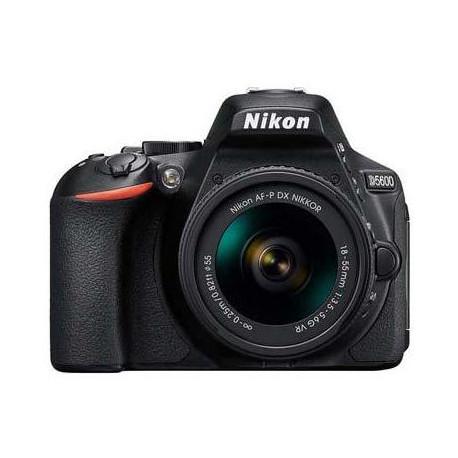 Nikon D5600 + обектив Nikon AF-P 18-55mm VR + обектив Nikon 50mm f/1.8G