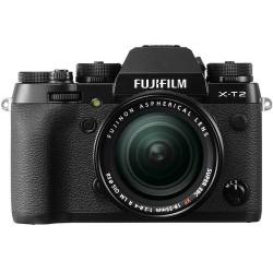 фотоапарат Fujifilm X-T2 + обектив Fujifilm XF 18-55mm f/2.8-4 R LM OIS + обектив Zeiss 32mm f/1.8 - FujiFilm X