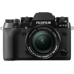 фотоапарат Fujifilm X-T2 + обектив Fujifilm XF 18-55mm f/2.8-4 R LM OIS + обектив Zeiss 12mm f/2.8 - FujiFilm X