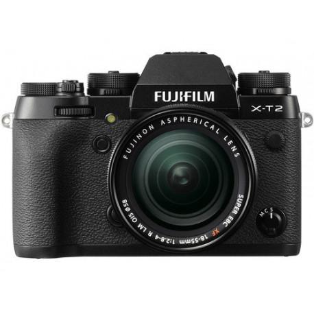 Fujifilm X-T2 (тяло) + обектив Fujifilm XF 18-55mm f/2.8-4 R LM OIS + обектив Zeiss 32mm f/1.8 - FujiFilm X