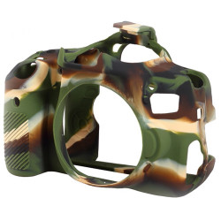 Accessory EasyCover ECC650DC - Silicone Protector for Canon 650D / 700D (Camouflage)