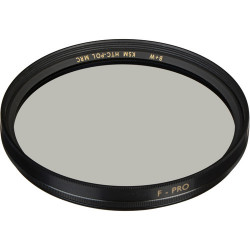 B+W 1081896 F-Pro Kaesemann High Transmission Circular Polarizer MRC Filter - 55mm