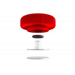 аксесоар Lolumina KN-CCV-13-RD-CK 13мм Concave Complete Kit (червен)