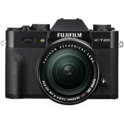 Fujifilm X-T20 + обектив Fujifilm XF 18-55mm f/2.8-4 R LM OIS + батерия Duracell DRFW126 Li-Ion Battery - еквивалент на Fujifilm NP-W126