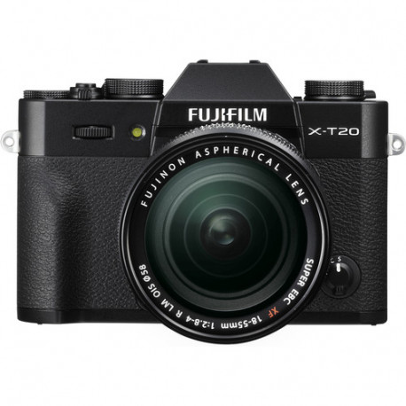 Fujifilm X-T20 + обектив Fujifilm XF 18-55mm f/2.8-4 R LM OIS + обектив Fujifilm XF 23mm f/2 R WR
