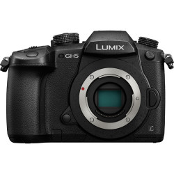 фотоапарат Panasonic Lumix GH5 + обектив Panasonic DG Summilux 25mm f/1.4 II + батерия Panasonic DMW-BLF19E