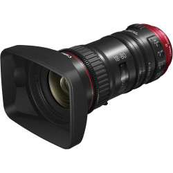 Lens Canon CN-E 18-80mm T4.4 Compact-Servo Cinema Zoom - EF Mount + Accessory Canon ZSG-C10 Zoom Servo Grip