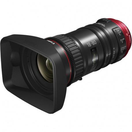 Canon CN-E 18-80mm T4.4 Compact-Servo Cinema Zoom - EF Mount