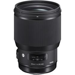 обектив Sigma 85mm f/1.4 DG HSM Art - Canon EF + филтър Sigma Protector Filter 86mm