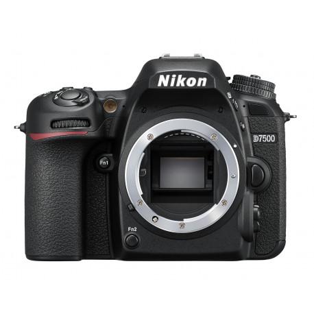 DSLR camera Nikon D7500 + Memory card Lexar Professional SD 64GB XC 633X 95MB / S