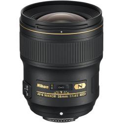 обектив Nikon AF-S NIKKOR 28mm f/1.4E ED