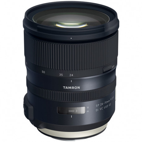 обектив Tamron SP 24-70mm f/2.8 Di VC USD G2 - Canon EF + филтър Rodenstock Digital Pro MC UV Blocking Filter 82mm