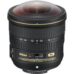 обектив Nikon AF-S Fisheye NIKKOR 8-15mm f/3.5-4.5E ED