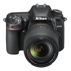 DSLR camera Nikon D7500 + Lens Nikon 18-140mm VR + Memory card Lexar Professional SD 64GB XC 633X 95MB / S