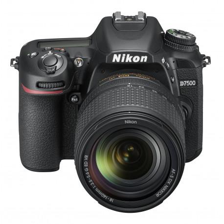 Nikon D7500 + Lens Nikon 18-140mm VR + Memory card Lexar Professional SD 64GB XC 633X 95MB / S