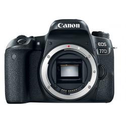 DSLR camera Canon EOS 77D + Lens Canon EF-S 18-135mm f/3.5-5.6 IS Nano USM