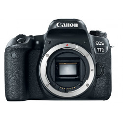 DSLR camera Canon EOS 77D + Lens Canon EF-S 55-250mm f / 4-5.6 IS STM