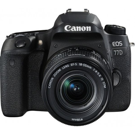 Canon EOS 77D + Lens Canon EF-S 18-55mm IS STM + Lens Canon EF-S 55-250mm IS STM