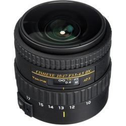 Lens Tokina 10-17mm f / 3.5-4.5 DX NH Fisheye - Canon EF