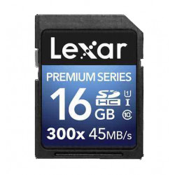 Premium Series SDHC 16GB 300X 45MB/S