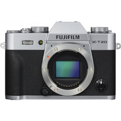 Camera Fujifilm X-T20 (сребрист) + Lens Fujifilm XF Fujinon 18-55mm f / 2.8-4 R LM OIS