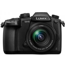 фотоапарат Panasonic Lumix GH5 + обектив Panasonic 12-60mm f/3.5-5.6 OIS + батерия Panasonic DMW-BLF19E