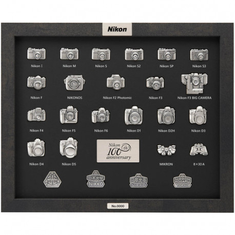 Nikon 100-th Anniversary Pin Collection