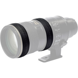 аксесоар EasyCover EC2LRB силиконови пръстени за обектив (черно)