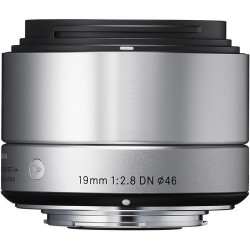 обектив Sigma 19mm f/2.8 DN | A - MFT (сребрист)