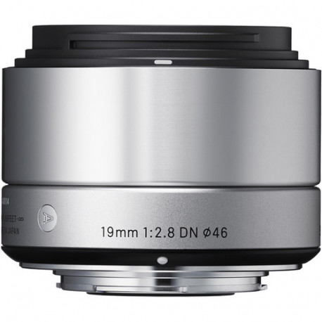 Sigma 19mm f/2.8 DN   A - MFT (сребрист)