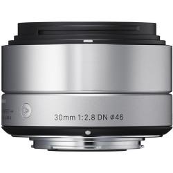 30mm f/2.8 DN   A - MFT (сребрист)
