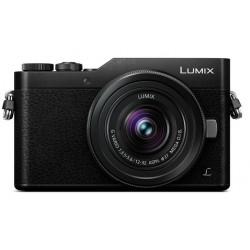 фотоапарат Panasonic Lumix GX800 + обектив Panasonic Lumix G 12-32mm f/3.5-5.6 MEGA OIS (черен)