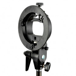 аксесоар Godox 157800 Държач за ръчни светкавици с адаптер Dynaphos/Bowens S-T