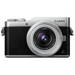 PANASONIC LUMIX GX800 SILVER+12-32MM KIT+SIGMA 19MM F/2.8 SILVER
