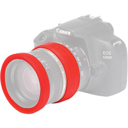 Accessory EasyCover ECLR58R 58mm Lens Silicone Rings (Red)