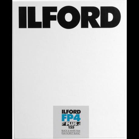 Ilford 1678279 FP4 Plus 125 B&W Film 25 / 4x5 In