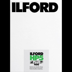 Ilford 1629172 HP5 Plus 400 B&W Film 25/4x5In